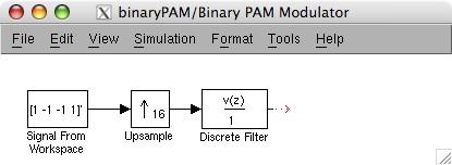 binary pulse amplitude modulation, Wiring block